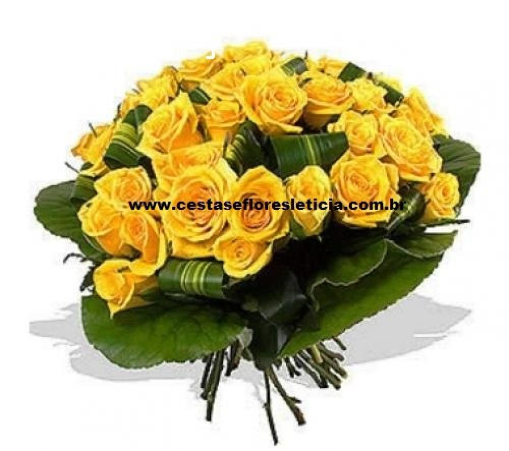 ARRANJO TRADICIONAL YELLOW ROSE